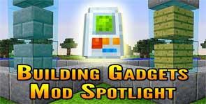 Building Gadgets Mod 1.16.1/1.15.2/1.12.2
