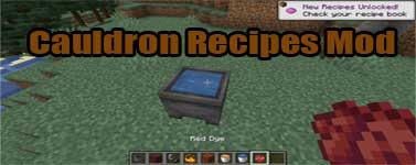 Cauldron Recipes Mod 1.16.2/1.15.2