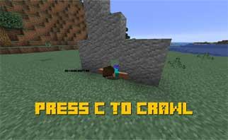 Press C To Crawl Mod 1.15.2.1.14.4