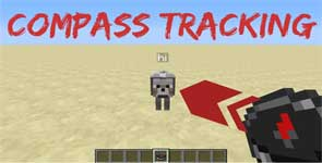 Player Tracking Compass Mod 1.16.2/1.15.2/1.14.4