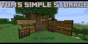 Tom's Simple Storage Mod 1.16.2/1.15.2