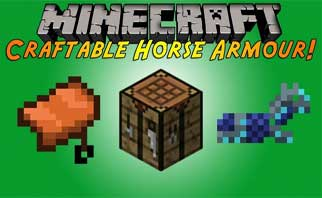Craftable Horse Armour & Saddle [CHA&S] Mod 1.16.2/1.15.2/1.12.2