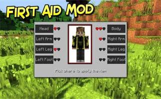 First Aid Mod 1.16.2/1.15.2/1.12.2