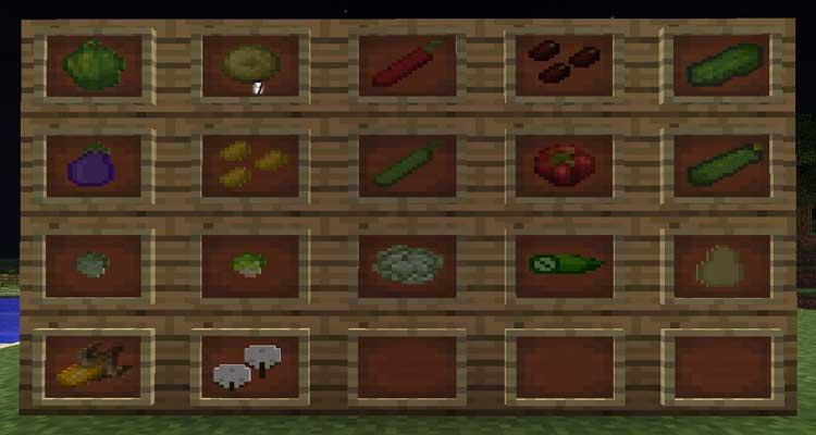 Pam S Harvestcraft Mod 1 12 2 1 11 2 1 10 2 Minecraft Mods Pc
