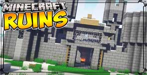 Ruins (Structure Spawning System) Mod 1.15.2/1.12.2/1.7.10