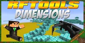 RFTools Dimensions Mod 1.12.2/1.11.2/1.10.2