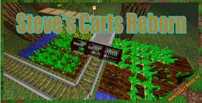 Steve's Carts Reborn Mod 1.12.2