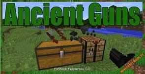 Ancient Guns Mod 1.14.4/1.12.2