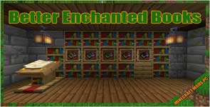 Better Enchanted Books (Fabric) Mod 1.16.5/1.15.2