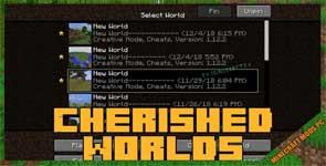 Cherished Worlds Mod 1.16.4/1.15.2/1.12.2