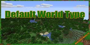 Default World Type (Forge) Mod 1.16.4/1.15.2/1.14.4