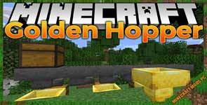 Golden Hopper Mod 1.16.3/1.15.2