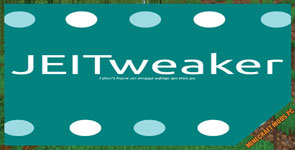 JEITweaker Mod 1.16.5/1.15.2/1.14.4