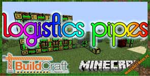 Logistics Pipes Mod 1.12.2/1.7.10