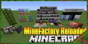 Minefactory Reloaded Mod 1.10.2/1.7.10/1.6.4