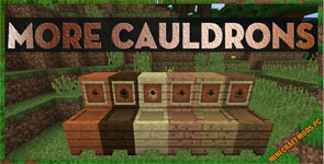 More Cauldrons Mod 1.16.4/1.15.2/1.12.2