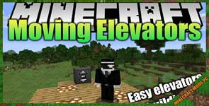 Moving Elevators Mod 1.16.4/1.15.2/1.12.2