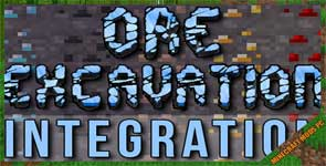Ore Excavation Integration Mod 1.12.2/1.11.2/1.10.2