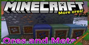 Ores and Metals Mod 1.15.2