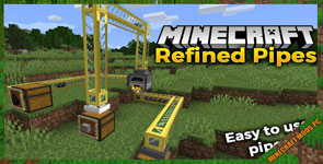 Refined Pipes Mod 1.16.4/1.15.2
