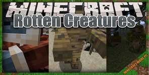 Rotten Creatures Mod 1.15.2/1.14.4