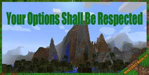 Your Options Shall Be Respected (YOSBR) Mod 1.16.5/1.15.2/1.14.4