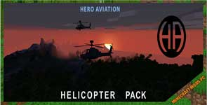 gyro_hero's Helicopter Pack (IV/MTS) Mod 1.12.2