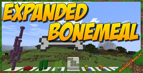 Extended Bone Meal Mod 1.16.5/1.15.2/1.12.2