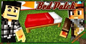 Bed Patch Mod 1.12.2/1.11.2/1.10.2