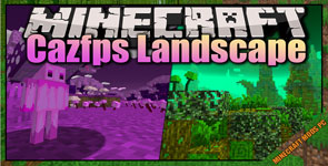 CAZfps landscape ( SPARCLE dlc ) Mod 1.15.2