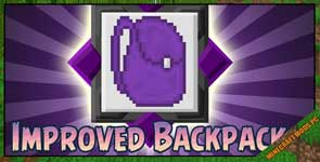 Improved Backpacks Mod 1.12.2/.1.11.2/1.10.2