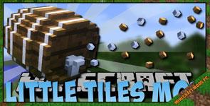 LittleTiles Mod 1.12.2/1.10.2/1.7.10
