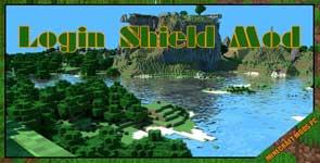 Login Shield Mod 1.12.2/1.10.2/1.7.10