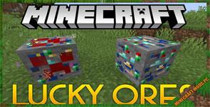 Lucky Ore Mod 1.16.3/1.16.2/1.15.2
