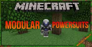 Modular Powersuits Mod 1.12.2/1.10.2/1.7.10