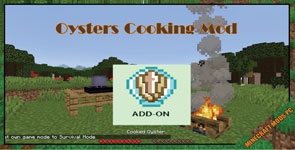 Oysters Cooking Mod 1.15.2/1.14.4