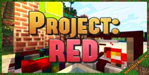 Project Red – Base Mod 1.12.2/1.10.2/1.7.10