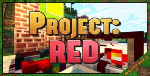 Project Red – Mechanical Mod 1.12.2/1.10.2/1.7.10