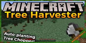 Tree Harvester Mod 1.16.4/1.15.2/1.12.2