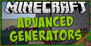 Advanced Generators Mod 1.12.2/1.10.2/1.7.10