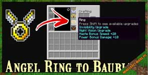 Angel Ring To Bauble Mod 1.12.2/1.11.2/1.10.2