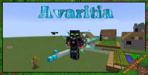 Avaritia 1.1x Mod 1.12.2/1.11.2/1.10.2