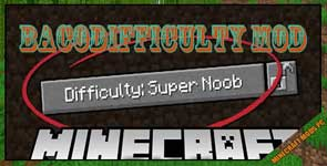 BacoDifficulty Mod 1.12.2