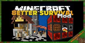 Better Survival mod 1.12.2/1.11.2/1.10.2