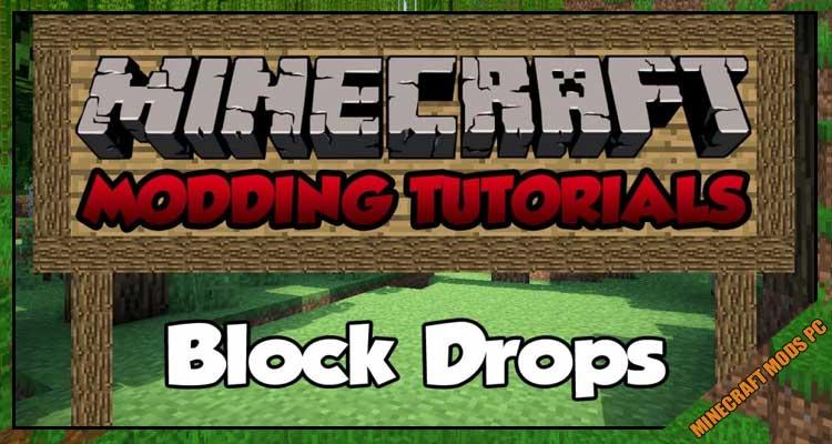 Block Drops (JEI Addon)