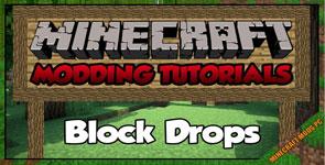 Block Drops (JEI Addon) Mod 1.14.4/1.12.2/1.10.2