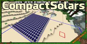 Compact Solars Mod 1.12.2/1.10.2/1.7.10