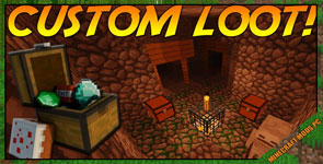 Customized Dungeon Loot Mod 1.14.4/1.12.2/1.10.2
