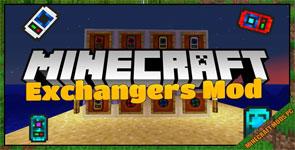 Exchangers Mod 1.12.2/1.11.2/1.10.2