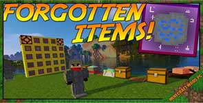 Forgotten Items Mod 1.12.2/1.11.2